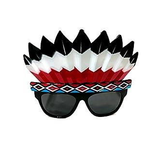 Fancy Dress Funny Glasses Indians Costume Sunglasses Ornaments Party Decoration Glasses (Indians)