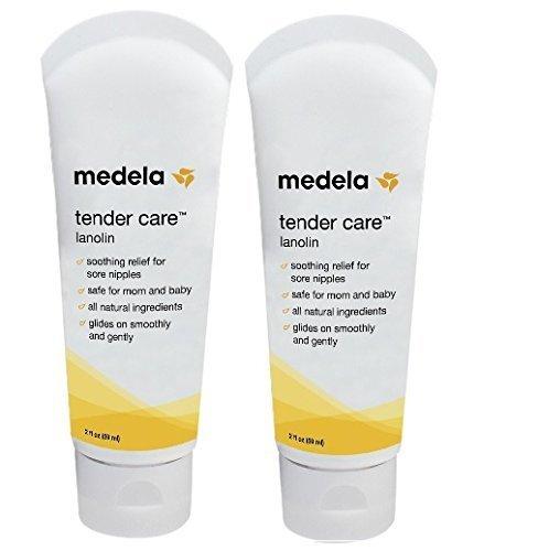 Medela Tender Care Lanolin Tube, 2 ounce (2 Pack) by Medela