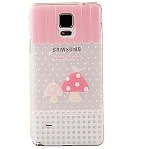 qyf Koshiro Mushrooms Pinttern PC Cover for Samsung Note 4