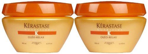 Kerastase Nutritive Oleo-Relax Masque, 6.8 oz, 2 pk (Oleo Relax Masque)