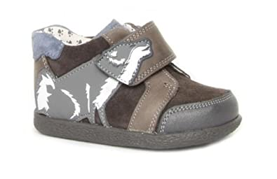 9904712f51f9 Clarks Arden Paw Fst G Fit Grey Pre School Boys Casual Shoes Size 5 ...