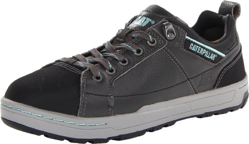 Caterpillar Women's Brode Steel Toe Work Shoe,Dark Grey,5.5 W US