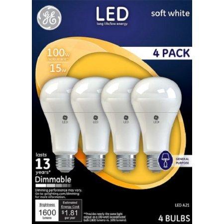 Ge 100 Watt Led Light Bulb - 8