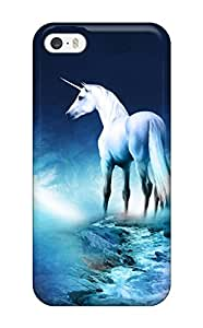 Case Cover Unicorn Horse Magical Animal Moon/ Fashionable Case For Iphone 5/5s