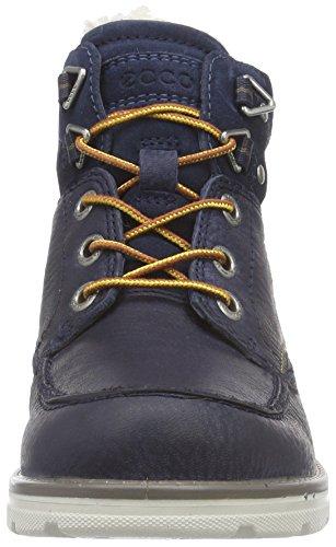ECCO JAYDEN Jungen Combat Boots Blau (NAVY/MARINE 59353)