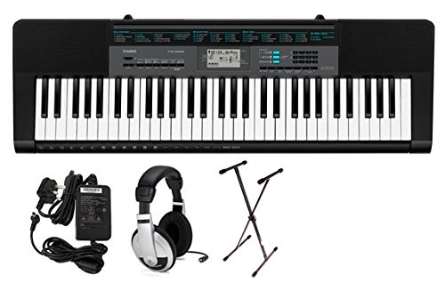 Casio CTK2550 61 Key Portable Keyboard Premium Package