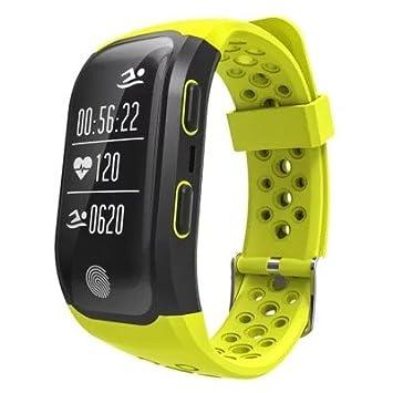 S908 Montre Connectée avec GPS Bracelet Connecté Fitness dActivité Moniteur de Sommeil/Podomètre