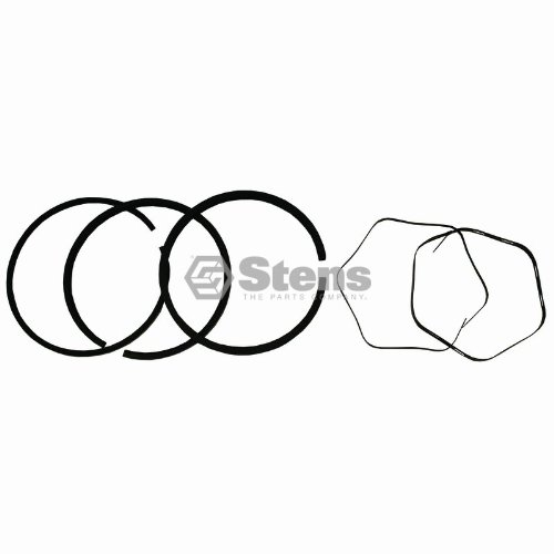 (Stens 500-355 Piston Rings STD, Black)