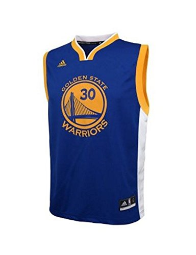 Golden State Warriors Youth Stephen Curry Road Replica Jersey (small-8)