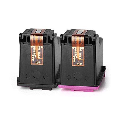 ESTON 2 Pack #62 XL Black/Color Ink for HP ENVY 5640 ENVY 5642 ENVY 5643 ENVY 5644 Photo #2