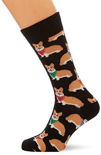 "Socksmith Mens' Novelty Crew Socks""Corgi"""