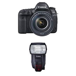Canon EOS 5D Mark IV Full Frame Digital SLR Camera with EF 24-105mm f/4L IS II USM Lens Speedlite Flash Bundle (B01M1D19ZS)   Amazon price tracker / tracking, Amazon price history charts, Amazon price watches, Amazon price drop alerts