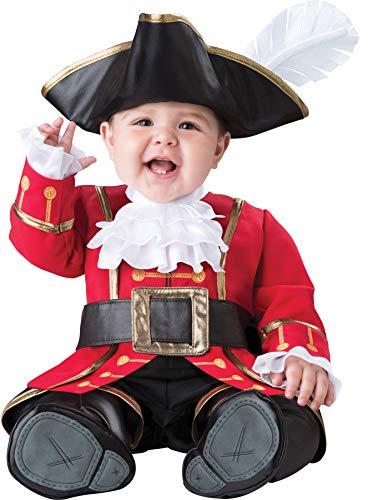 Fun World Baby Boys' Captain Cuteness Costume, Multi, M for $<!--$43.95-->