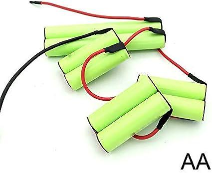 AA 2500mAh para Electrolux AEG Batería ERGO RAPIDO 405513230 12V ...