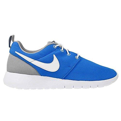 Nike Youth Roshe One (Photo Blue/White/Wolf Grey)(4 M US Big Kid)