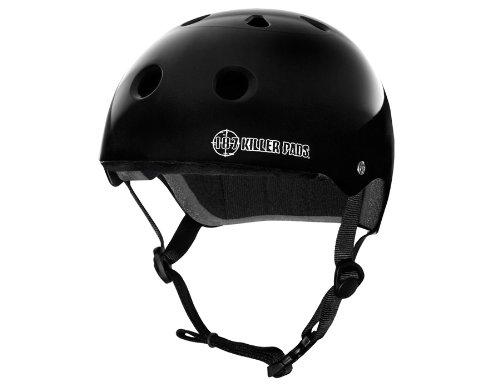 無料発送 187 X-Large キラーパッド プロスケートヘルメット キラーパッド B015XOLX3A X-Large|ブラック ブラック ブラック X-Large, 寝ころん太くん:71613940 --- a0267596.xsph.ru