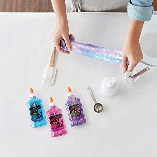 Elmer's Liquid Glitter Glue, Washable, Purple, 6 Ounces, 1 Count - Great For Making Slime
