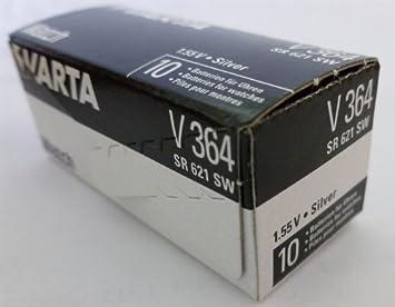 100 Varta Batterien V364 Elektromaterial