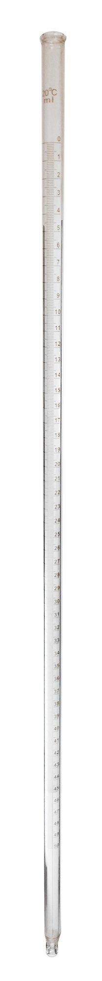 GSC International 205-3-10 Mohr's Style Burette, 50ml, Case of 10