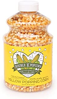 product image for Double K Popcorn Yellow Butterfly Kernels - 30 oz Jar -- Gluten Free -- Classic Popcorn Style