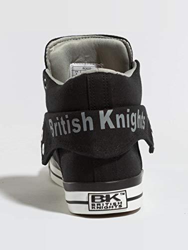 uomo ginnastica nere British da Scarpe Roco Knights vS8aq
