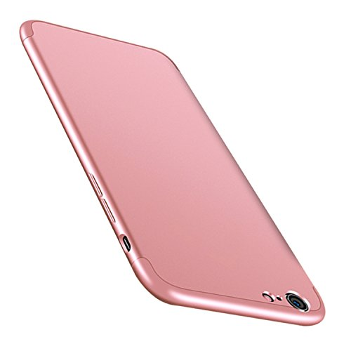 Mince 1 Anti Case Coque 6 Scratch Choc iPhone 3 pour Tremp Rose Or Intgrale avec PC Telephone Anti en Etui 360 JEPER Ultra Membrane 6S iPhone Protection Verre Housse Apple A7xzzqPp