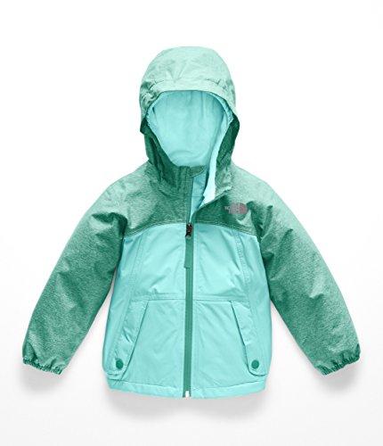 The North Face Todd Girl's Warm Storm Jacket - Kokomo Green Heather - 6T (Face North Jacket Mountain Light)