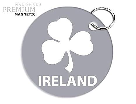 Impresionante JCM Irlanda Rugby trébol llavero magnético ...