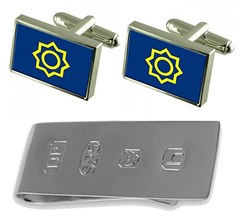 Cufflinks Bond amp; City Money Flag South Seoul James Clip Korea BqZRw