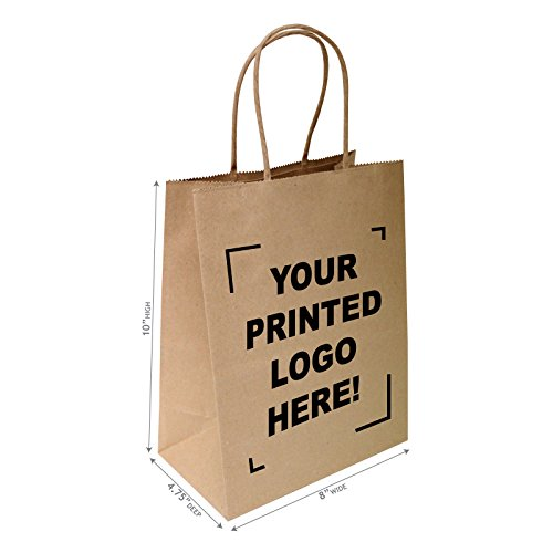 Custom Kraft Merchandise Bags - 2