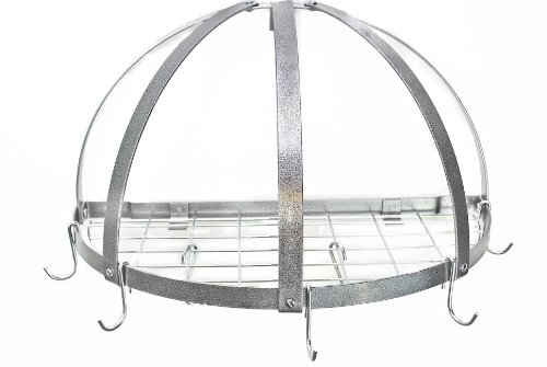 Rogar KD Half Dome Pot Rack
