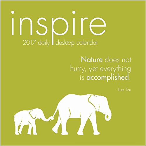 TF Publishing 2017 Inspire Daily Desktop Calendar (17-3037)