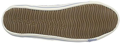 Pastellblau Blu Mustang 302 donna Sneakers da 1099 nwwR7qXY
