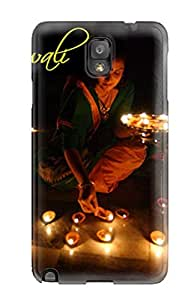Defender Case With Nice Appearance (funny Of Happy Diwali ) For Galaxy Note 3