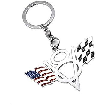 Amazon.com: Kaolele Single Car Key Chain Key Ring for ...