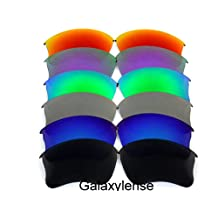 Replacement Lenses For Oakley Flak Jacket xlj Black.Blue.Gray.Green.Purple.Red