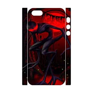 Iphone 5,5S Bloody 3D Art Print Design Phone Back Case Customized Hard Shell Protection HG074621