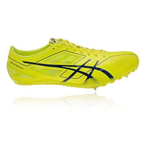Asics Da Sonicsprint Scarpe Blue Chiodate Yellow Flash deep Corsa qRvSwqn7xU