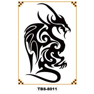 temporary-tattoo-black-dragon-totem-tbs-8011