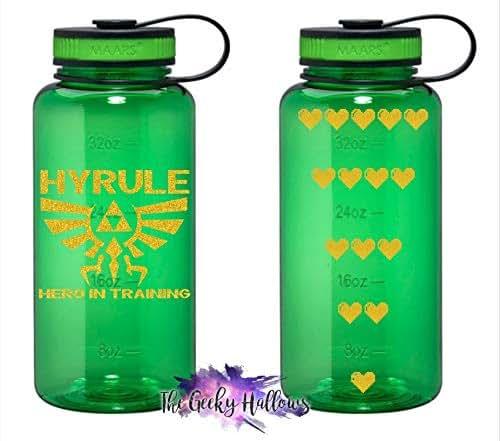 Water Bottle Zelda: Amazon.com: Hyrule Hero In Training