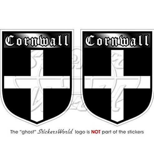CORNWALL Cornish County England British Shield UK Britain 75mm (3