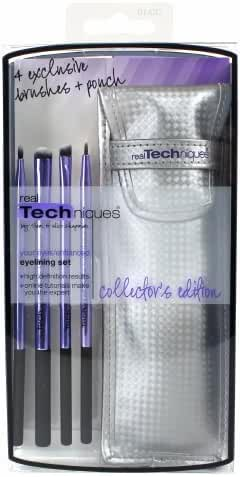 (6 Pack) Real Techniques Limited Edition Eyelining Set - Plush Synthetic Bristles