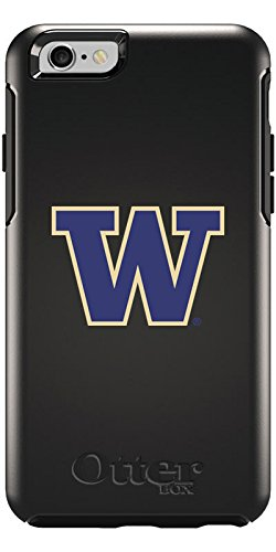 University of Washington - W Design on Black OtterBox Symmetry Case for iPhone 6 and iPhone 6s