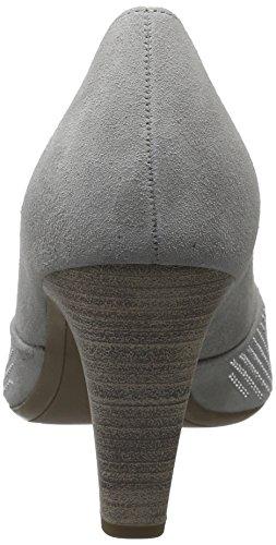 Gabor Damen Fashion Pumps, Rot Grau (stone 19)
