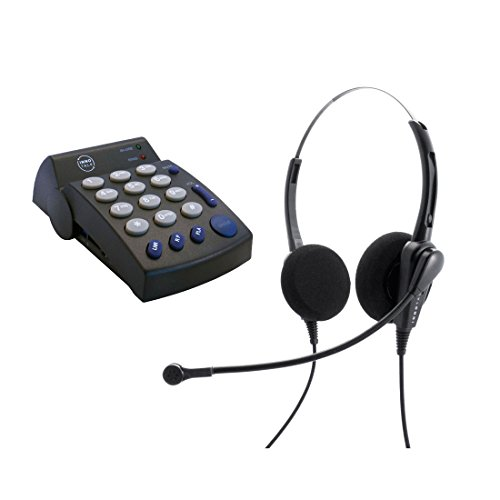 Headset Telephone Package - Business Pro Binaural Headset and Featured Headset Telephone - Compare Plantronics by InnoTalk