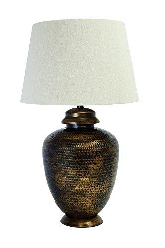 Vintage Series Table Lamp (Ashley Furniture Signature Design - Sarice Table Lamp - Vintage - Antique Brass Finish)