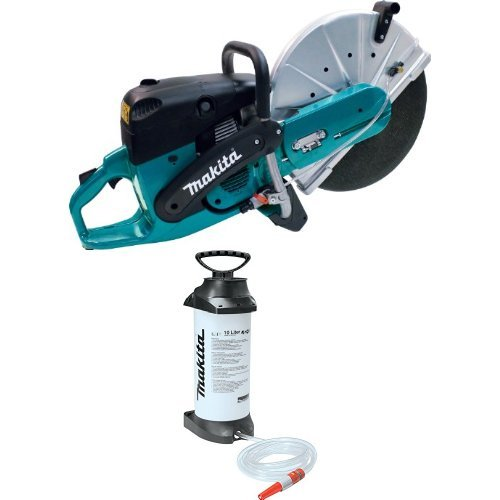 Makita EK8100 16-Inch 81 cc Power Cutter 988-394-610 2.6 Gallon Pressurized Water Tank