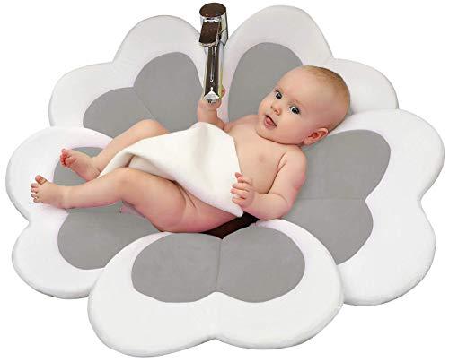 (VERNASSA - Baby Bath Flower Baby Bath(Gray))