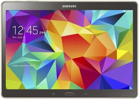 Samsung Galaxy Tab S 10.5-Inch Tablet (16 GB, Titanium Bronze)