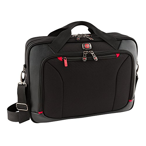 "Victorinox luggage Highwire Deluxe 28373001 High wire 17"" Laptop Briefcase, Black, One Size"